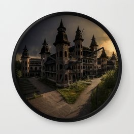 Unfinished Dreams Wall Clock