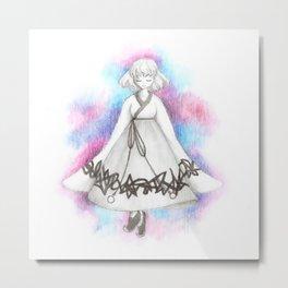 Girl of the Universe Metal Print