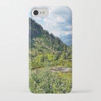 washington iPhone & iPod Cases featuring Washington by amberino