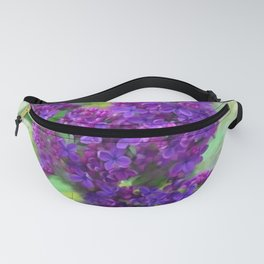 Watercolor Lilac Fanny Pack
