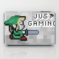 gaming iPad Cases featuring JUST GAMING by Edgar