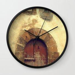 The red door Wall Clock
