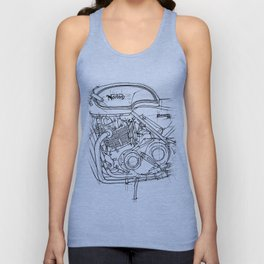 NORTON COMMANDO 961 CAFE RACER 2011 Unisex Tank Top