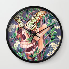 Sphenoid Wall Clock