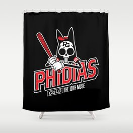 The Tenth Inning Shower Curtain