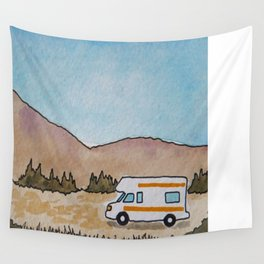 The Roaming Home Wall Tapestry