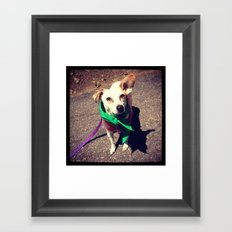 Blanca Boo To The Rescue Framed Art Print