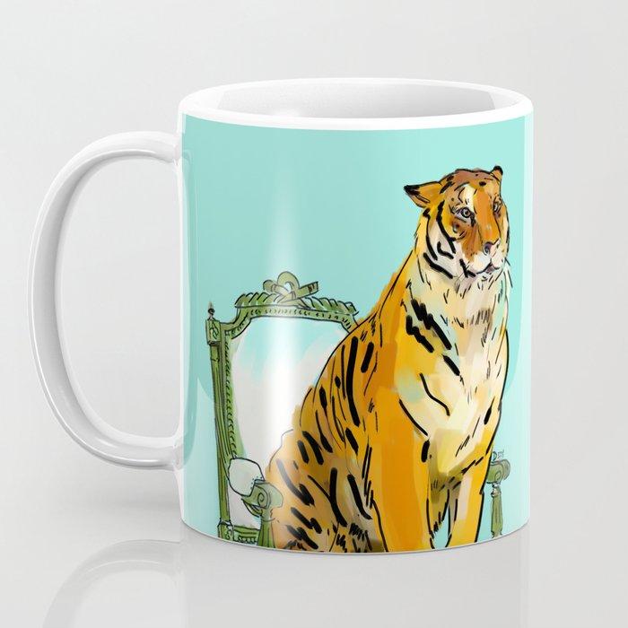 animals in chairs # 21 The Tigers Coffee Mug