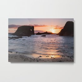 The Elephant Rock , County Antrim , Northern Ireland Metal Print