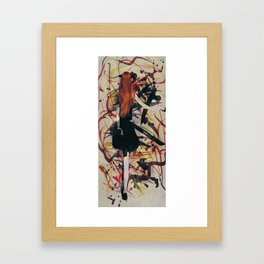 Expression Abstract Framed Art Print