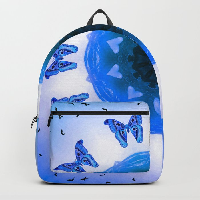All things with wings (blue) Backpack