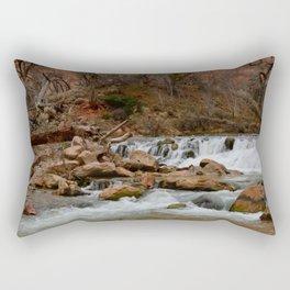 Virgin_River Falls 0898 - Zion Court Rectangular Pillow