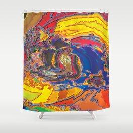 Chromatic, No. 4 Shower Curtain