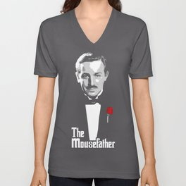 Walt E.Disney, The Mousefather Unisex V-Neck