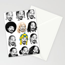 Snoop Dogg Hair Stationery Cards