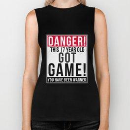 Danger This 17 Year Old Got Game Biker Tank