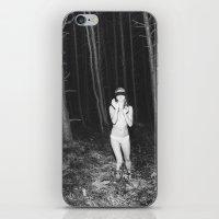 laura palmer iPhone & iPod Skins featuring Laura Palmer I by Linas Vaitonis