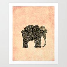 boho Ella Art Print