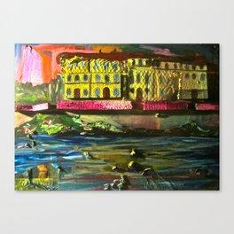 Evening in Firenze Canvas Print