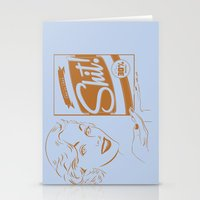 shit Stationery Cards featuring Shit!  by Plan 9 Design