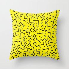 Memphis pattern 35 Throw Pillow