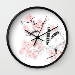 Ink Snake Wall Clock