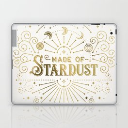 Made of Stardust – Gold Palette Laptop & iPad Skin
