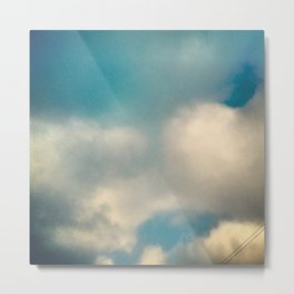 On Cloud Wonder Metal Print