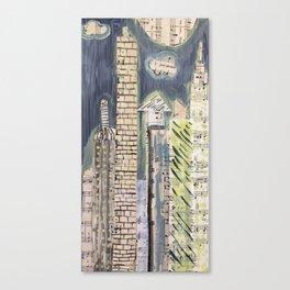 vintage city Canvas Print
