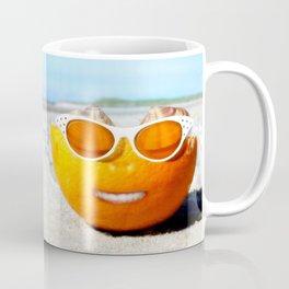 Beached Orange Coffee Mug