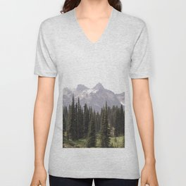 Mountain Wilderness - Nature Photography Unisex V-Neck