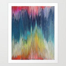 Pixel Sorting 46 Art Print
