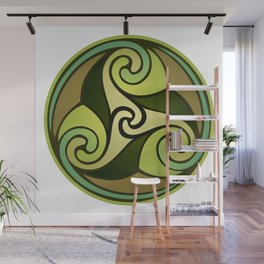 Earthly Emblem Wall Mural