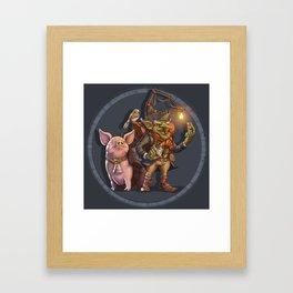 Monster of the Week: Mushroom Trader Framed Art Print