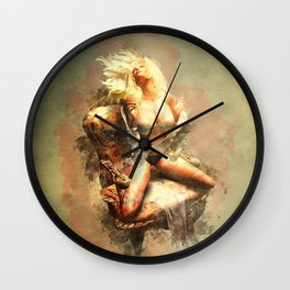 Release Me Wall Clock