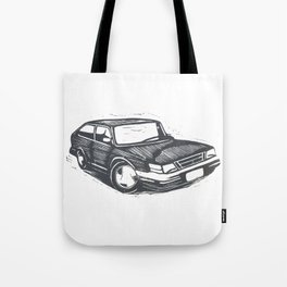 Saab 900 Tote Bag