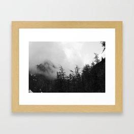 In the Midst of Black Framed Art Print
