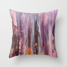 Color Texture History 4 Throw Pillow