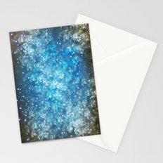 Shimmering Stars Stationery Cards