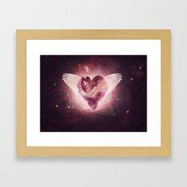 Graphics Heart Framed Art Print