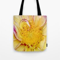 dahlia Tote Bags featuring Dahlia by ThePhotoGuyDarren