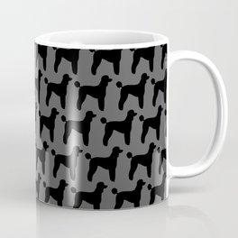 Standard Poodle Silhouette(s) Coffee Mug