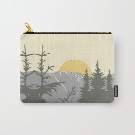 Ski Mountain Sun and Trees - Breckenridge  Carry-All Pouch