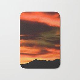 SW Orange Mountain Sunrise - II Bath Mat