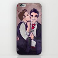 klaine iPhone & iPod Skins featuring Love is Love by Ines92