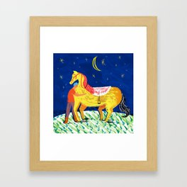 You and Me, Bess Framed Art Print