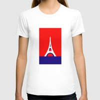 france T-shirts featuring FRANCE by Marcus Wild