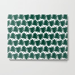 Leaf Green Metal Print