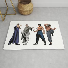 Kung Fu Legends Rug
