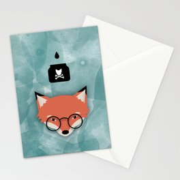 Smart Fox Stationery Cards
